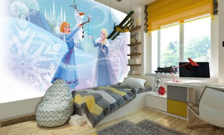 Wallpaper mural Disney Frozen Elsa & Anna